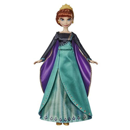 Disney Frozen迪士尼冰雪奇緣改版歡唱公主 安娜