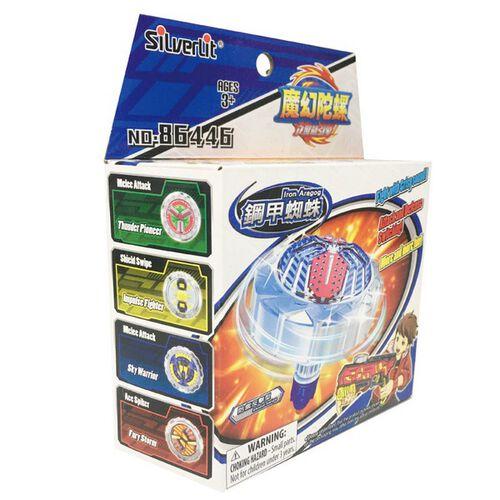 Spin Fighter魔幻陀螺 聚能引擎-鋼甲蜘蛛