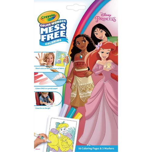 Crayola繪兒樂 神彩著色套裝 迪士尼公主(迷你包)