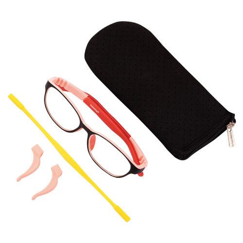 VisionKids 兒童防藍光眼鏡 粉紅