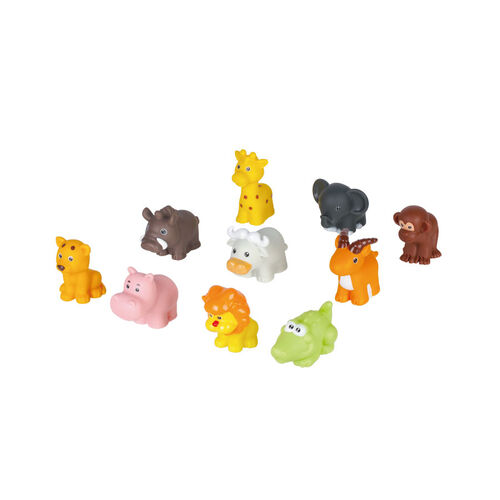 Top Tots 野生動物洗澡玩具桶裝