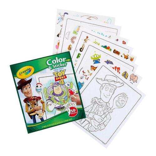 Crayola繪兒樂Toy Story玩具總動員4(貼紙著色本)
