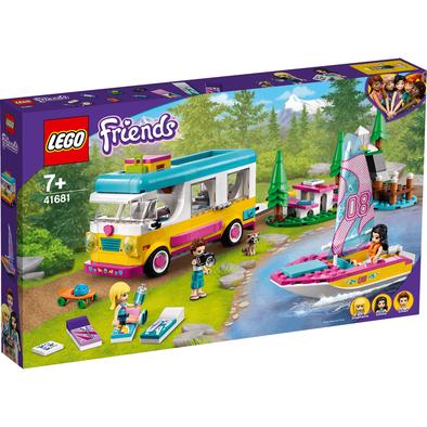 Lego樂高 41681 森林露營車和帆船