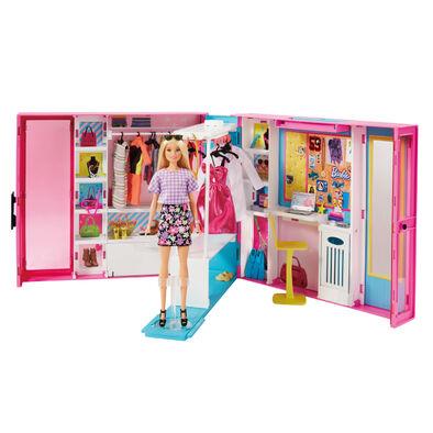 Barbie芭比娃娃barbie 夢幻衣櫃
