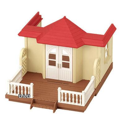 Sylvanian Families森林家族紅頂露台木屋