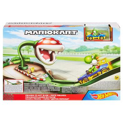 Hot Wheels風火輪 Mario Kart系列軌道組 超級瑪利歐 - 隨機發貨