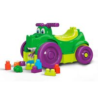 Mega Bloks美高積木鱷魚騎乘車