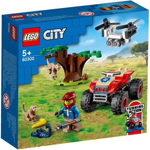 Lego樂高 60300 野生動物救援沙灘車
