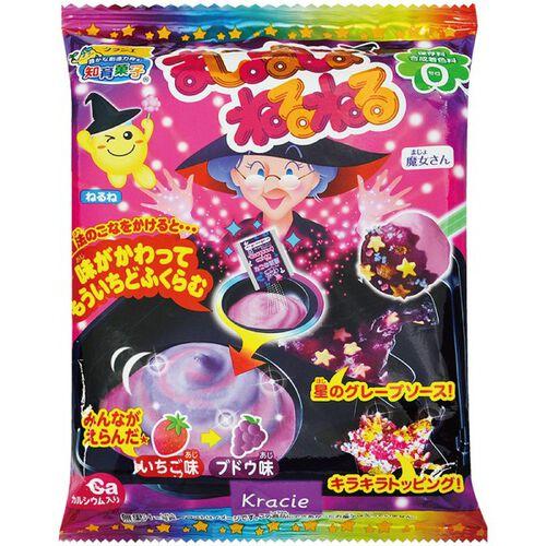 Kracie Foods 知育果子系列 創意DIY 魔法女巫小達人