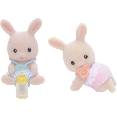 Sylvanian Families森林家族 牛奶兔雙胞胎
